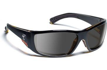 7 Eye 7eye Air Dam Sunglasses Maestro, Sharp View Gray Polarized PC Lens, Black Tortoise Frame, M-L , Men 595553