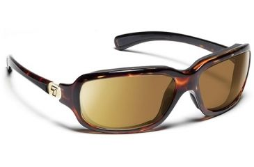 7 Eye 7eye Air Dam Sunglasses Marin, Sharp View Clear Lens, Black Tortoise Frame, M-L , Men 435540