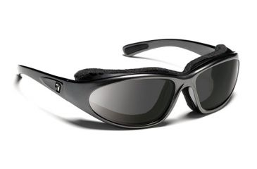 7eye 140341 Bora Rx Progressive Sunglasses Airshield Charcoal Frames