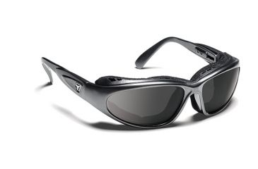 7eye 190341 Cape Rx Progressive Sunglasses Airshield Charcoal Frames