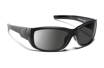 7eye 860146 Dillon Rx Progressive Sunglasses Active Lifestyle Matte Black Frames