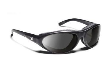 7eye 200141 Mens Cyclone Rx Progressive Sunglasses Airshield Matte Black Frames