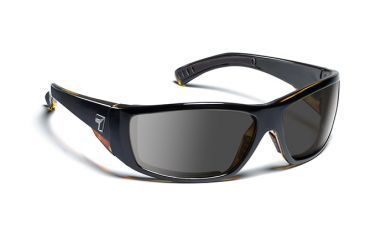 7eye 595541 Mens Maestro Single Vision Sunglasses Airdam Black Tortoise Frames