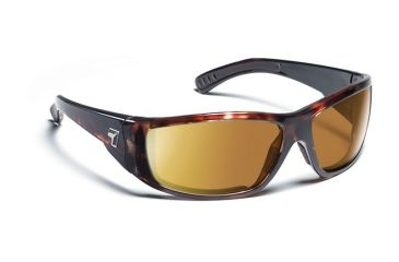 7eye 590642 Mens Maestro Rx Progressive Sunglasses Airdam Dark Tortoise Frames