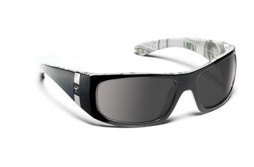 7eye 784746 Mens Shaka Single Vision Sunglasses Active Lifestyle Black C Note Frames