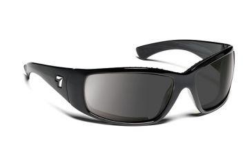 7eye 570141 Mens Taku Rx Progressive Sunglasses Airdam Matte Black Frames