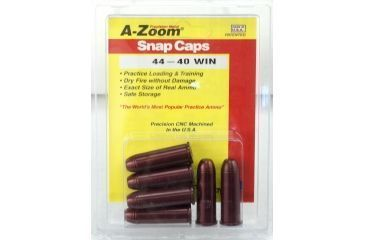 A-Zoom Revolver Snap Caps - 44-40 Win, Pack of 6