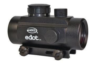 ADCO International E-Dot Compact Red Dot Sight 5 MOA 30mm Black ECB