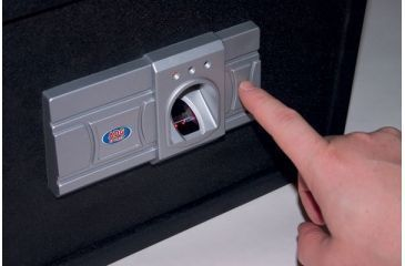 Secure Vault Fingerprint Safe Closeup