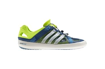 4983307f3521 Adidas Outdoor Climacool Boat Breeze Watersports Shoe - Men s-Tribe Blue  Chalk Slime