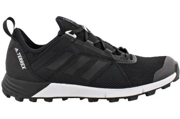 7877fbc5dbfdc Adidas Outdoor Terrex Agravic Speed Trail Running Shoe - Men s -Black Black White