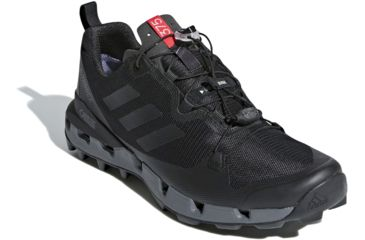 save off c2d80 9f44b Adidas Outdoor Mens Terrex Fast GTX-Surround Hiking Shoes, BlackGrey Five