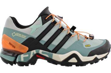 e926ee815 Adidas Outdoor Terrex Fast R GTX Hiking Shoe - Women s-Tactile Green Black