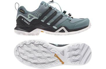 sale retailer c410e 3dd0a Adidas Outdoor Terrex Swift R2 GTX Hiking Shoe - Womens, Raw Green Carbon