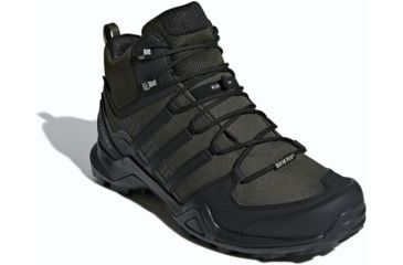 timeless design 2642d ac4c3 Adidas Outdoor Terrex Swift R2 Mid GTX Hiking Shoe- Mens, Night CargoBlack