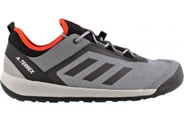 9d8dbdc82 Adidas Outdoor Terrex Swift Solo Approach Shoe - Men s-Vista Grey Chalk  White