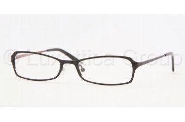 Adrienne Vittadini AV 6077 Eyeglasses Styles Black/Wine Frame w/Non-Rx 49 mm Diameter Lenses