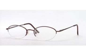 Adrienne Vittadini AV6008-158-4718 Eyeglasses with Rx Prescription Lenses 47 mm Lense Diameter / Espresso Frame