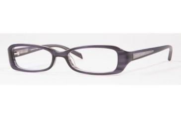Adrienne Vittadini AV7021-634-4915 Eyeglass Frames 49 mm Lense Diameter / Black-Pink Frame w/Non-Rx Lenses