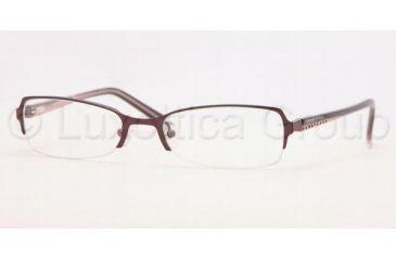Adrienne Vittadini Eyeglass Frames AV6075B, Adrienne Vittadini AV 6075B Eyeglasses Styles Plum Frame w/Non-Rx 53 mm Diameter Lenses