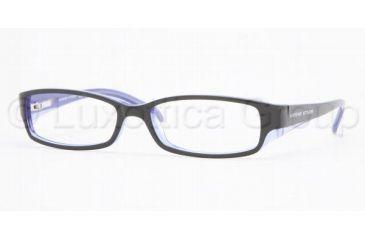 Adrienne Vittadini Eyeglass Frames AV7024, Adrienne Vittadini AV 7024 Eyeglasses Styles Amber/Lavender Frame w/Non-Rx 51 mm Diameter Lenses