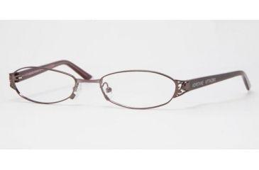 Adrienne Vittadini Eyeglasses AV6057-195S-5117 with Lined Bi-Focal Rx Prescription Lenses 51 mm Lense Diameter / Sat Cordovan Frame