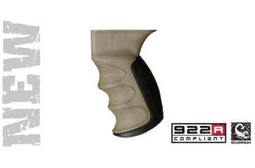 Advanced Technology AK-47 Scorpion Recoil Pistol Grip, Desert Tan A5202346