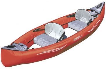 Advanced Elements Canoe, Strait Edge, Red,Gray AE1008R