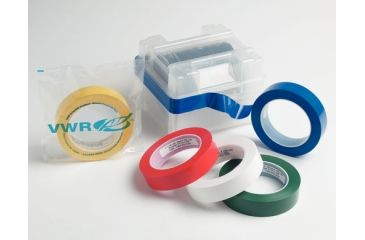 VWR Vwr Tape Pe 2in Yellow 52B-2YE, Unit EA