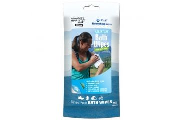 Adventure Medical Kits Adventure Bath Wipes, Travel Size 0170-0304