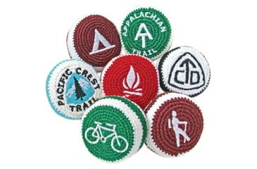 Adventure Trading Pacific Crest Trail Footbag FB-2 MB52