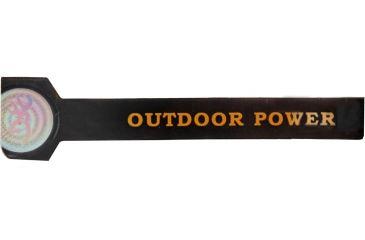 AES Optics Team Realtree Outdoor Power Bracelet, Large, Black 99017