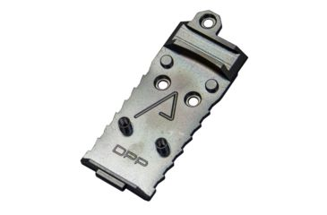 1-Agency Arms Chamfered DPP Red Dot Sight Mount Plate for Glock