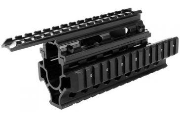 AIM Sports Inc AK/Hungarian Tactical Quad Short Rail MK006Q