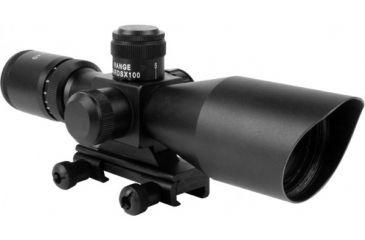 AIM Sports Inc CQB Combo 3-9x40 Scope/Red Dot/Picatinny Mount/P4 Sniper Reticle JSRPC01