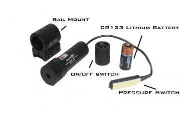 Aimshot KT6832 Red Laser Sight Kit