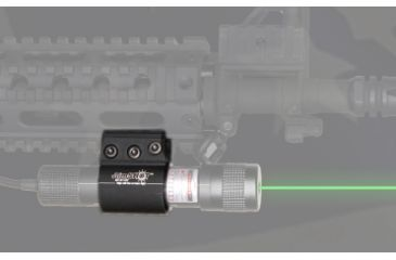 1-Aimshot Mount for Tatical Xenon Illuminator Flashlight or Green Laser