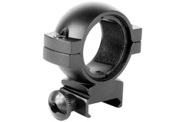 AimSports 30mm Rings Weaver/1in. Insert-Low, Black QW30L