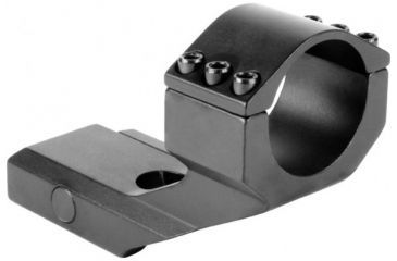 AimSports 30mm Weaver Ring/1in. Insert-Cantilever Mount, Black QW30WM