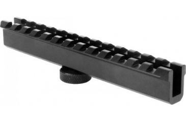 AimSports AR15 Scope Mount 5-1/2in. Weaver Style Conversion For Ch, Black MT004
