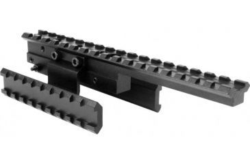 AimSports Mosin Nagant Tactical Tri-Rail Mount, Black MNGTM