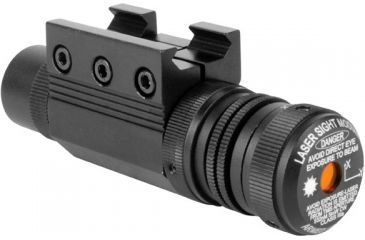 AimSports Pistol/Rifle Green Laser, Black LG001