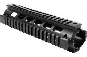AimSports Stanag 4694/Mid Length Quad Rail w/ Covers, Black MT040