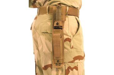 BlackHawk Airborne Deluxe Knife Sheath- 5.5in- Coyote Tan 44AK02DE