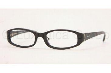 Anne Klein AK8047 Eyeglasses with No-Line Progressive Rx Prescription Lenses 147-5117 - Black