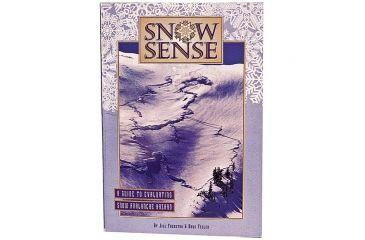 Alaska Mtn Safety Snow Sense Avalanche Book SNOW SENSE