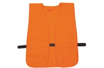 Allen Blaze Orange Hat And Vest Combo One Size