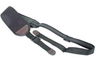 Allen Cobra Neoprene Sling With Swivels Installed Black With Brown Trim 8271