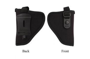 Allen Cortez Nylon Pistol Holster, Black, Size 0 112902