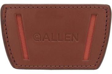 Allen Glenwood Belt Slide Leather Holster, Medium, Brown 112920